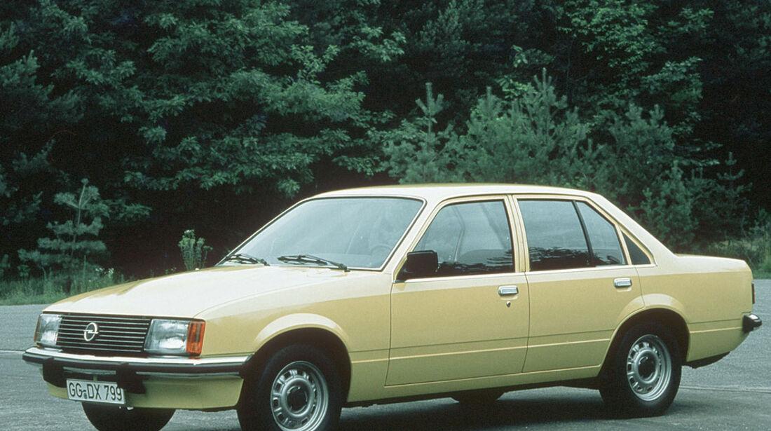 Opel Rekord E `77 Diesel, 1977-1982
