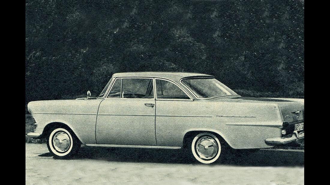 Opel, Rekord, IAA 1961