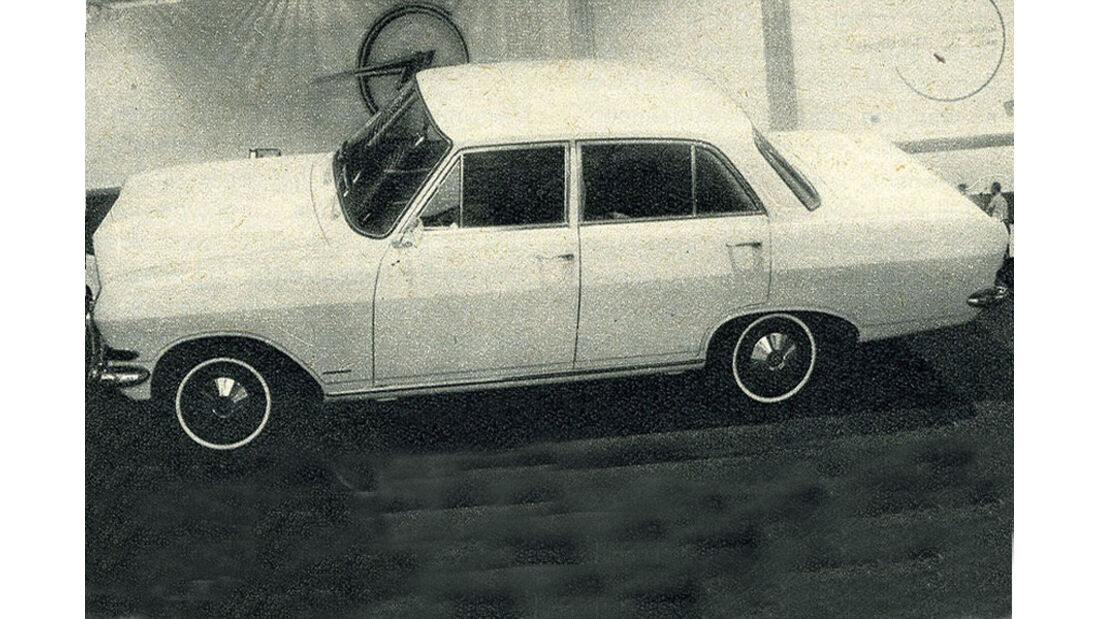 Opel, Rekord, IAA 1965