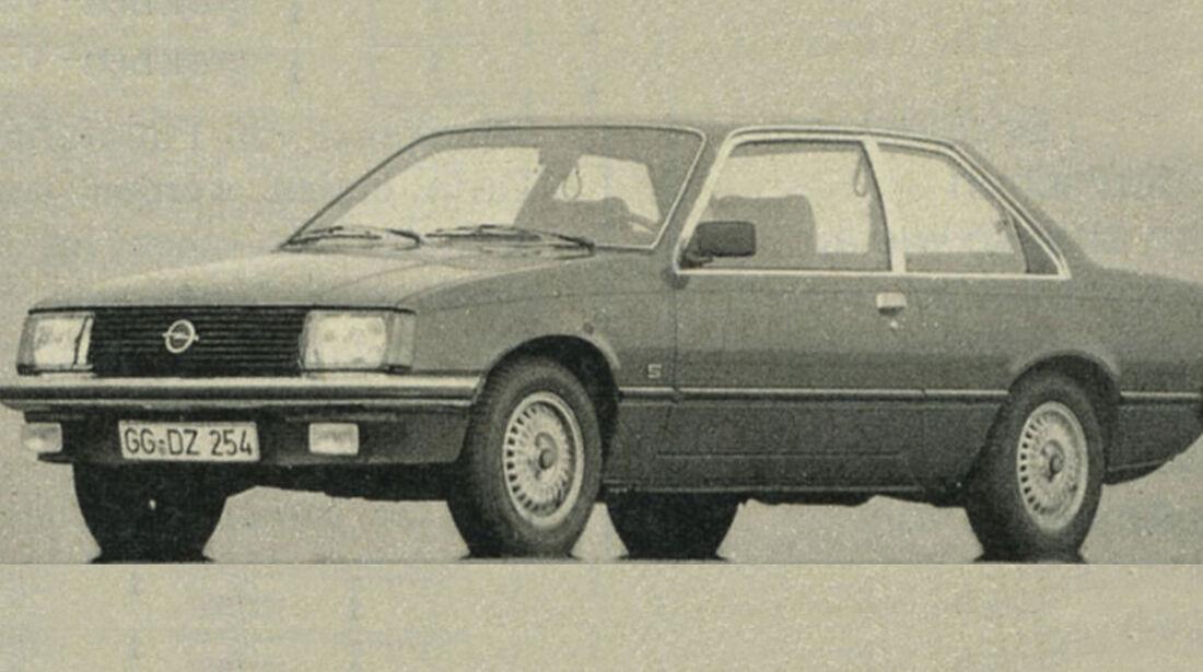 Opel, Rekord, IAA 1981