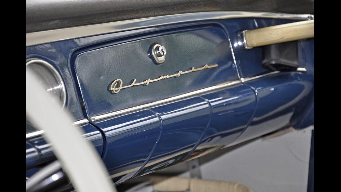 Opel Rekord Schriftzug