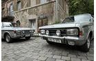 Opel Rekord Sprint, Ford 17M RS, Kühlergrill