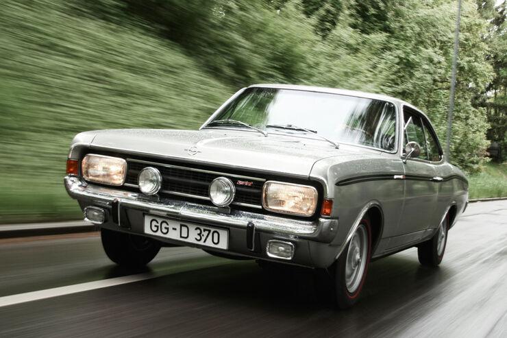 Opel Rekord Sprint, Frontansicht