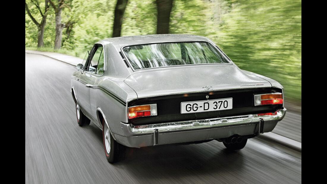 Opel Rekord Sprint, Heckansicht
