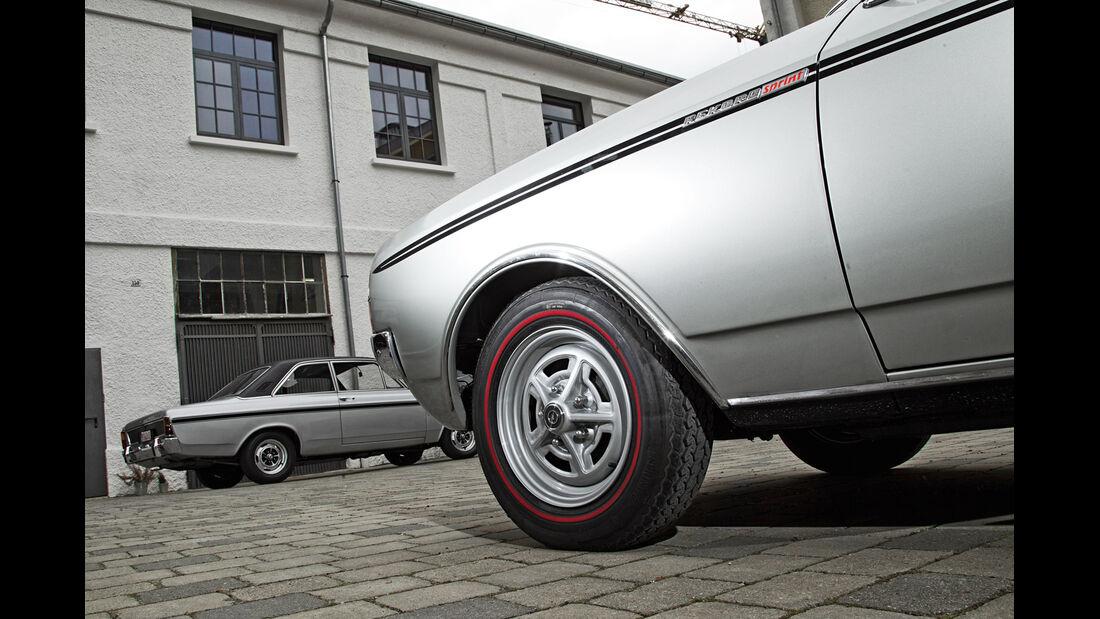 Opel Rekord Sprint, Rad, Felge