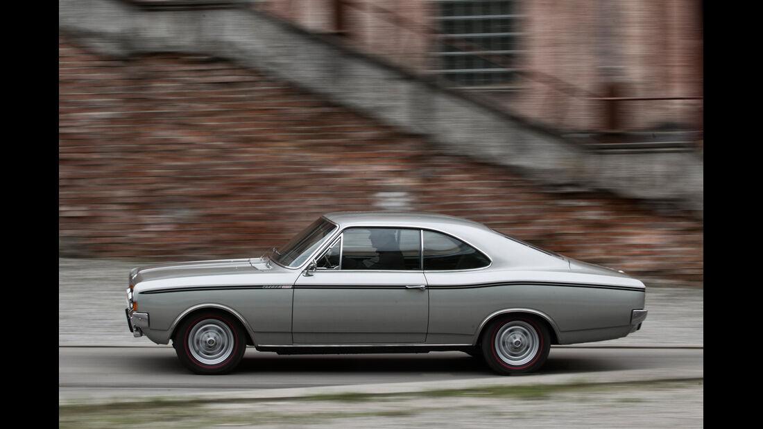 Opel Rekord Sprint, Seitenansicht