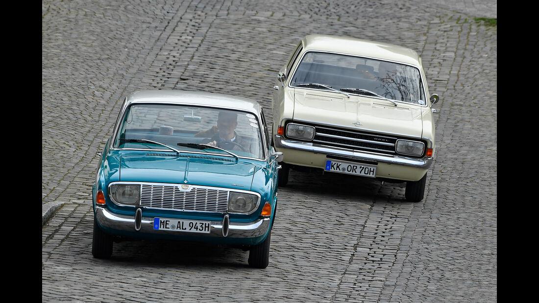 Opel Rekord und Ford Taunus Motor Klassik 05/2017