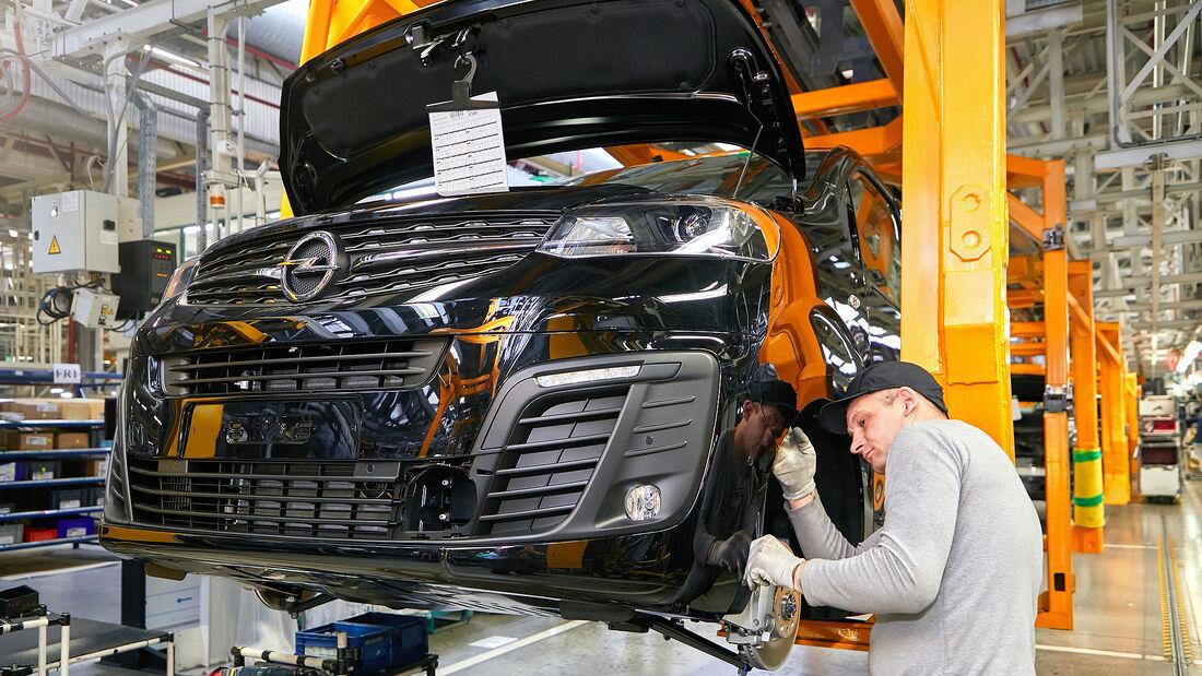 Opel Russland Kaluga