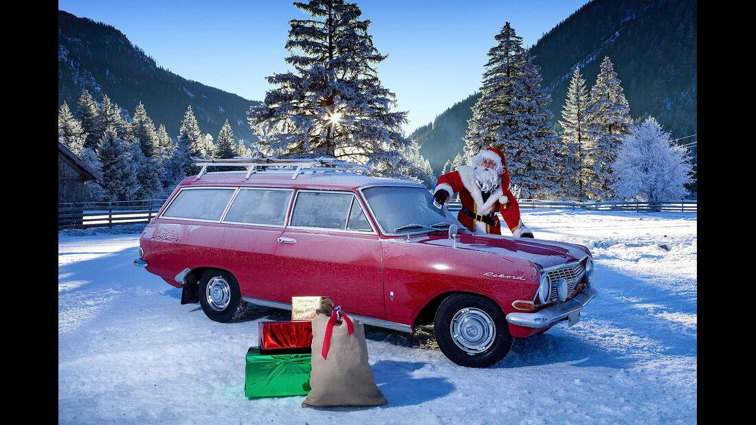 Opel Schnee Weihnachten