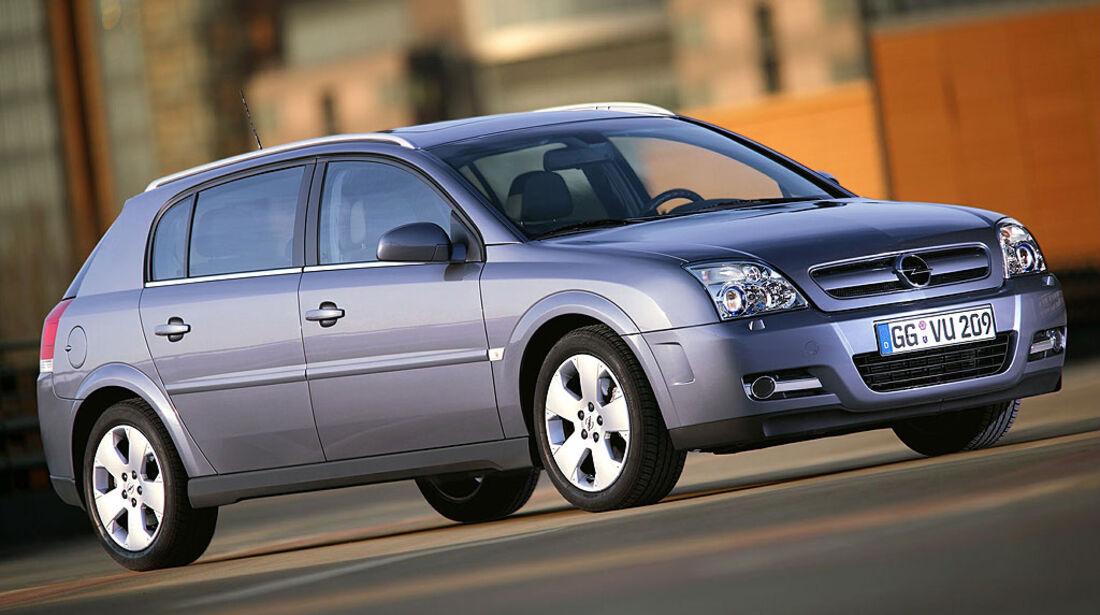 Opel Signum, 2002