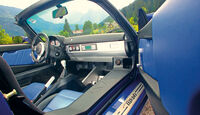 Opel Speedster, Cockpit
