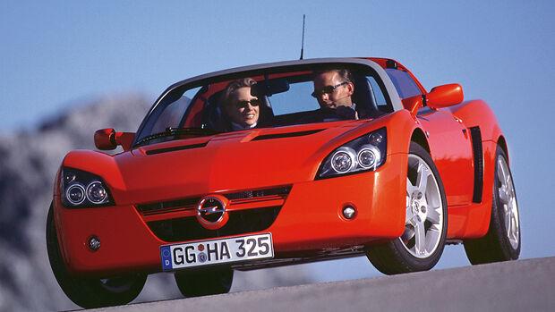 Opel Speedster, Frontansicht
