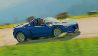 Opel Speedster, Seitenansicht