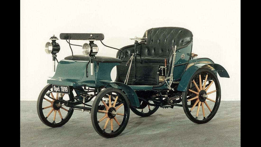 Opel System Lutzmann 1899