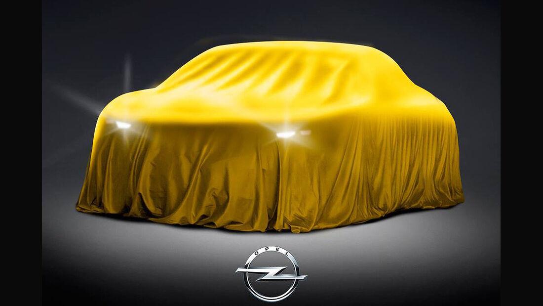Opel-Teaser Moskau Motor Show