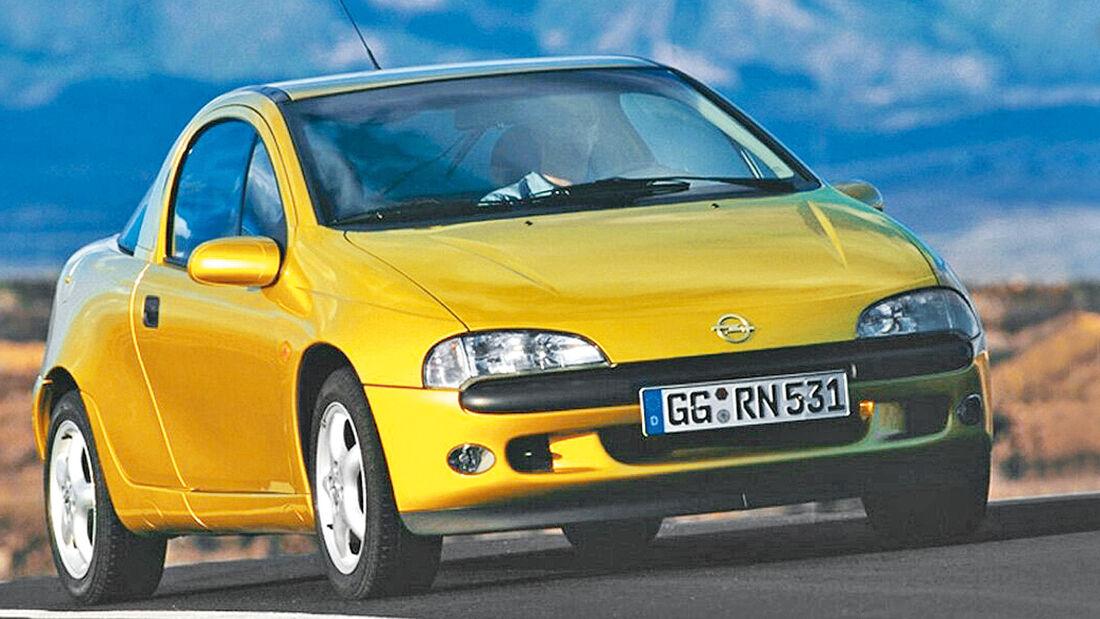 Opel Tigra 1.6i 16V, Frontansicht