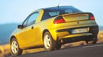 Opel Tigra 1.6i 16V, Heckansicht