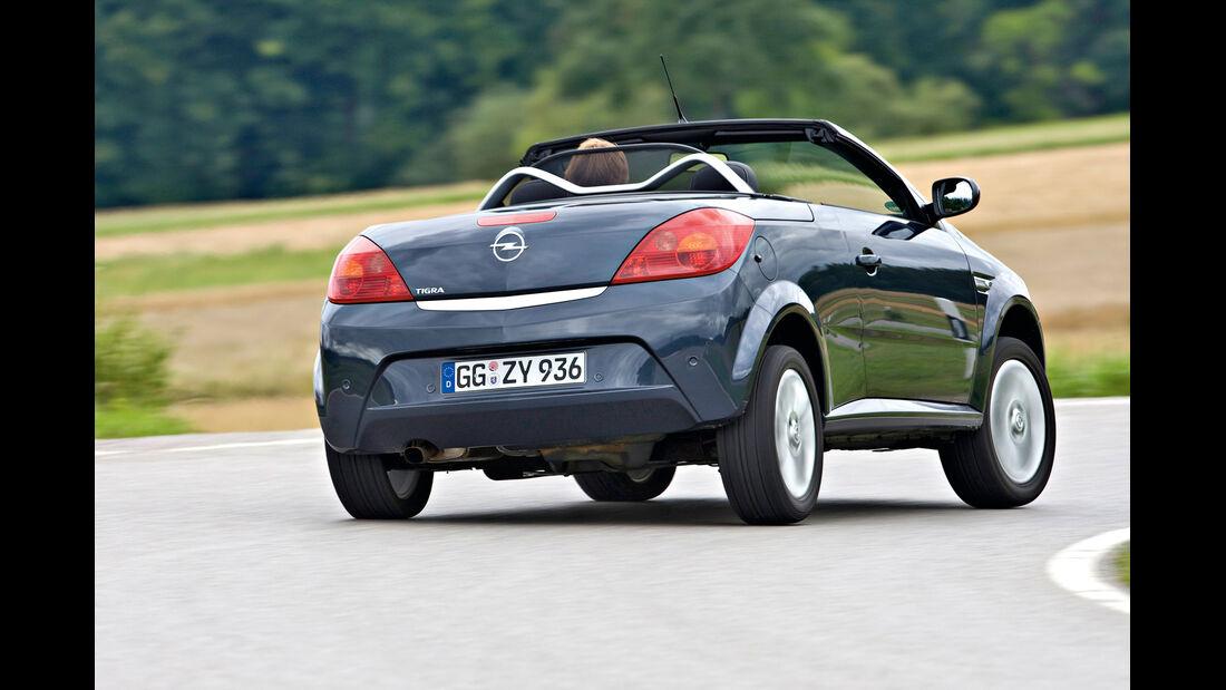 Opel Tigra Twin Top, Heckansicht