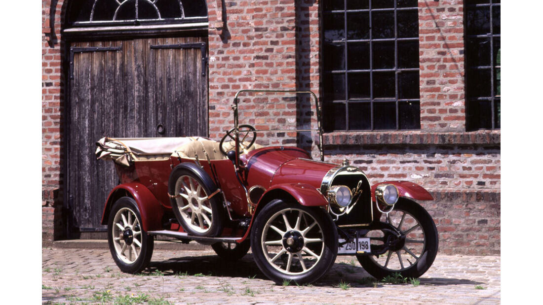 Opel Torpedo, 1911