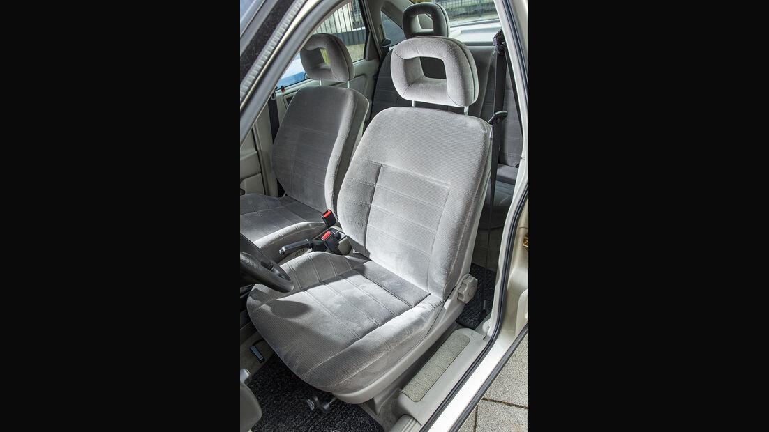 Opel Vectra 2.0i, Fahrersitz
