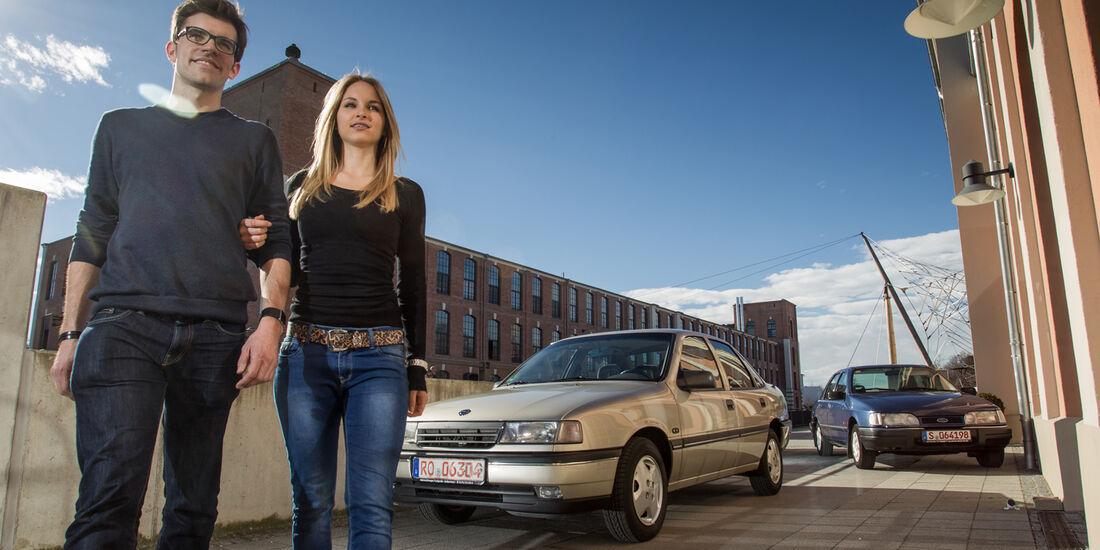 Opel Vectra 2.0i, Ford Sierra 2.0i, Besitzer