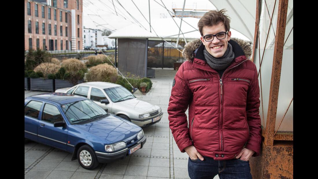 Opel Vectra 2.0i, Ford Sierra 2.0i, Michael Eiden