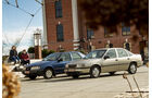 Opel Vectra 2.0i, Ford Sierra 2.0i, Seitenansicht