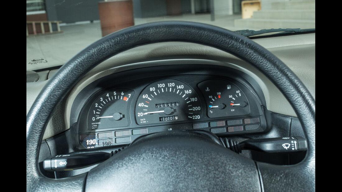 Opel Vectra 2.0i, Rundinstrumente