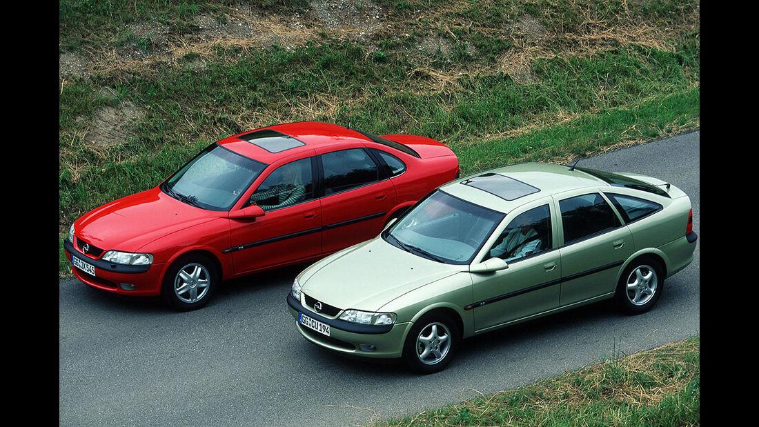 Opel Vectra B, Modelle
