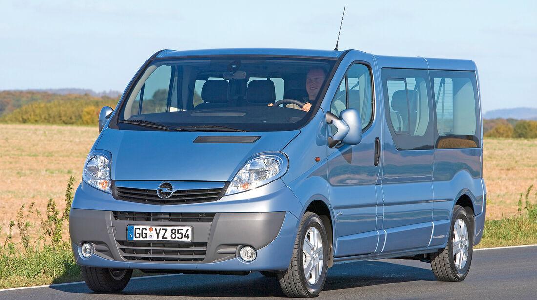 Opel Vivaro 2.0 CDTI, Frontansicht