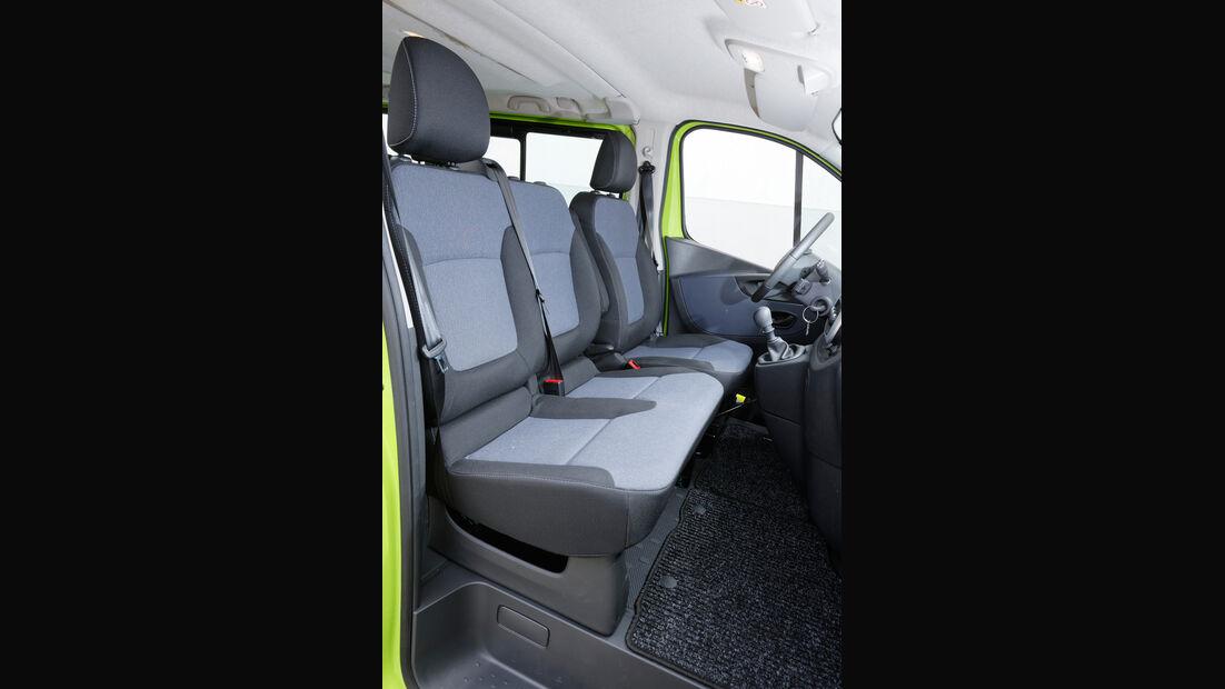 Opel Vivaro Combi L1H1 1.6 CDTI Biturbo 2.7t, Fondsitze