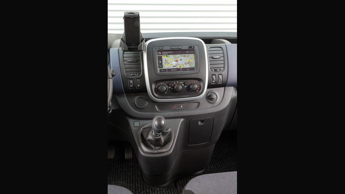 Opel Vivaro Combi L1H1 1.6 CDTI Biturbo, Mittelkonsole