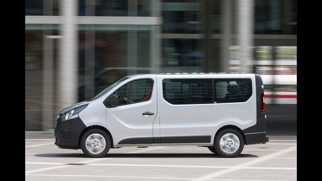 Opel Vivaro Combi L1H1 1.6 CDTI Biturbo, Seitenansicht