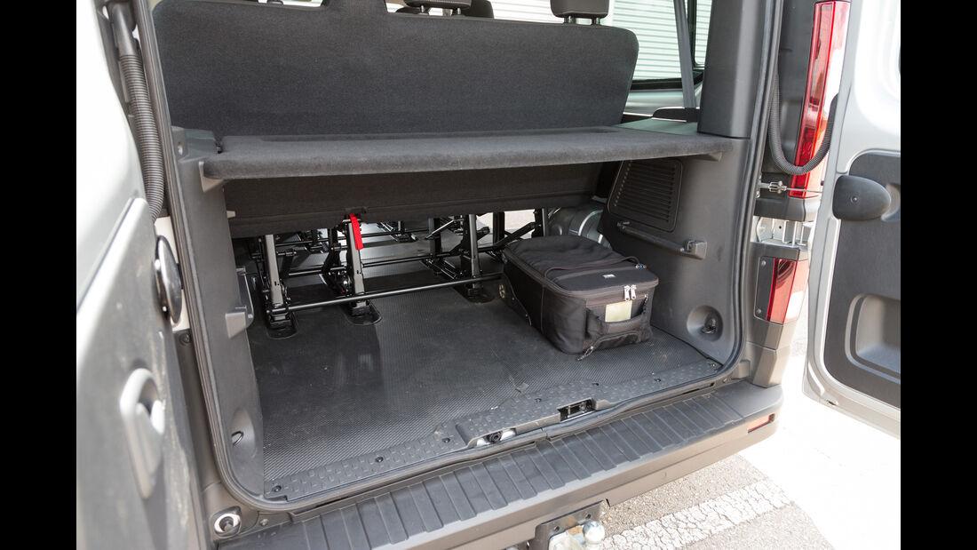 Opel Vivaro Combi L1H1 1.6 CDTI Biturbo, Stauraum