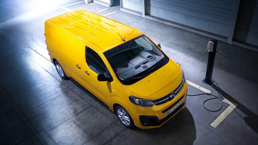 Opel Vivaro E Elektro-Transporter