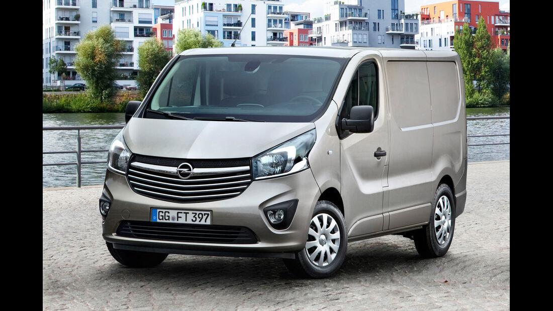 Opel Vivaro, Frontansicht