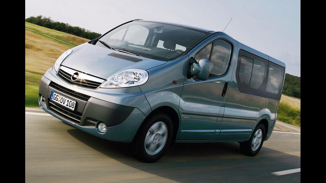 Opel Vivaro, Seitenansicht