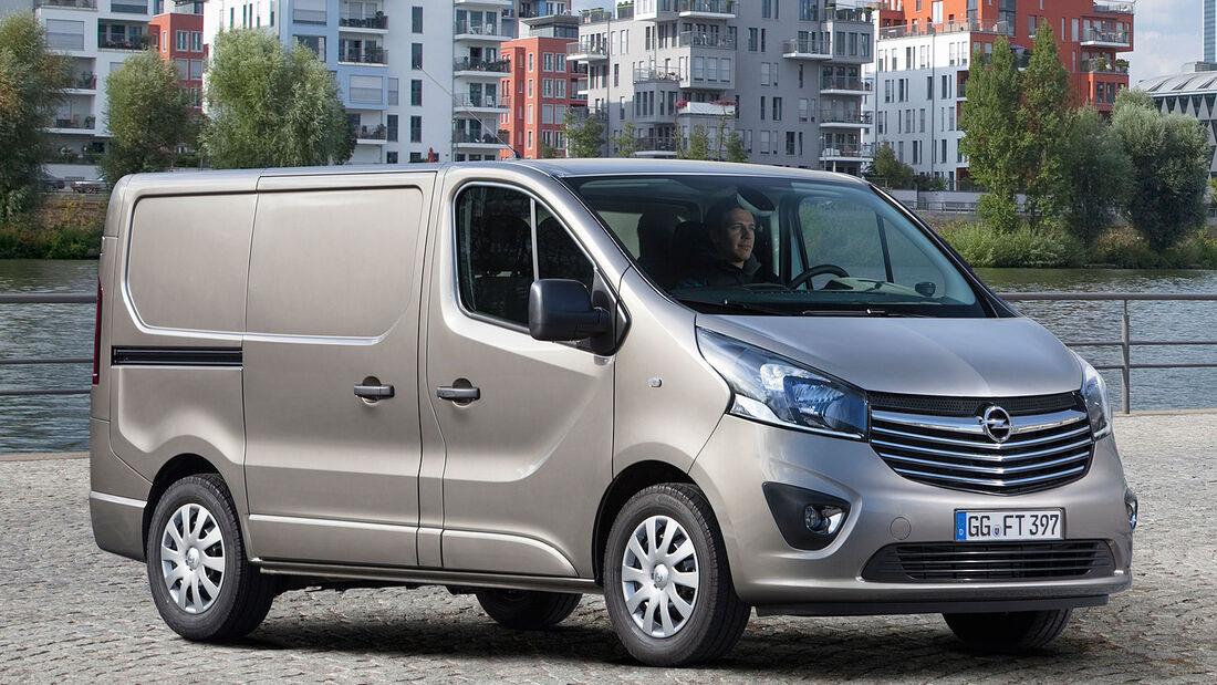 Opel Vivaro Sperrfrist 18.3.2014 11.00 Uhr