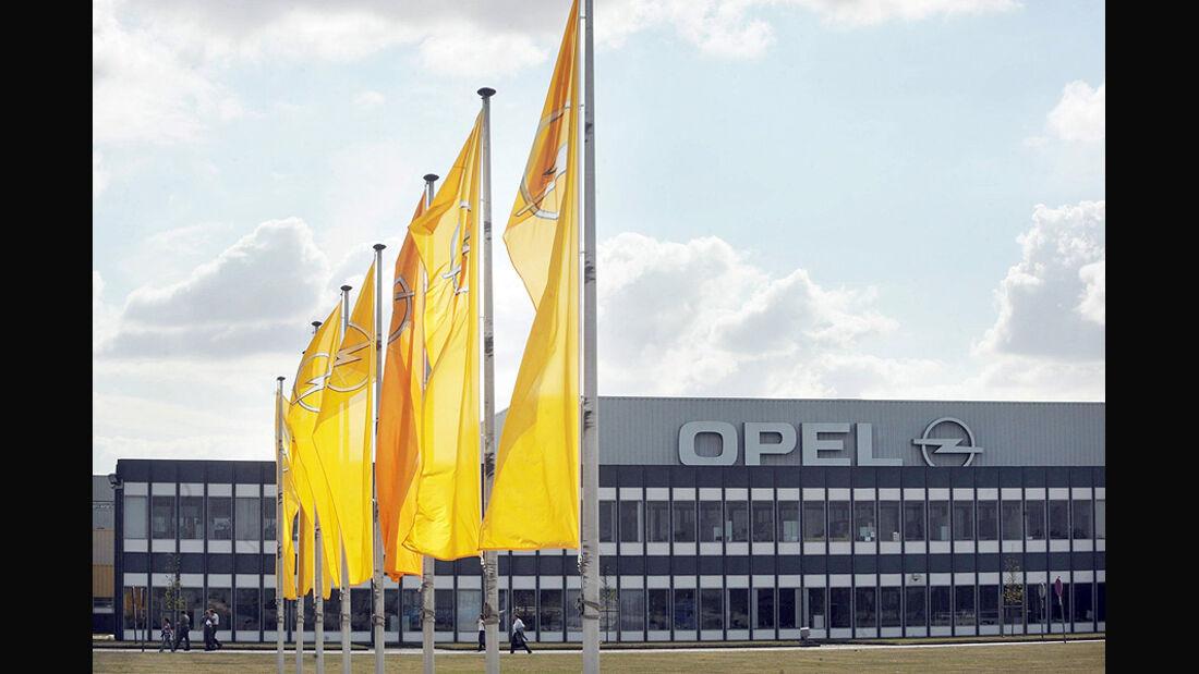 Opel Werk Antwerpen, Opel Logo