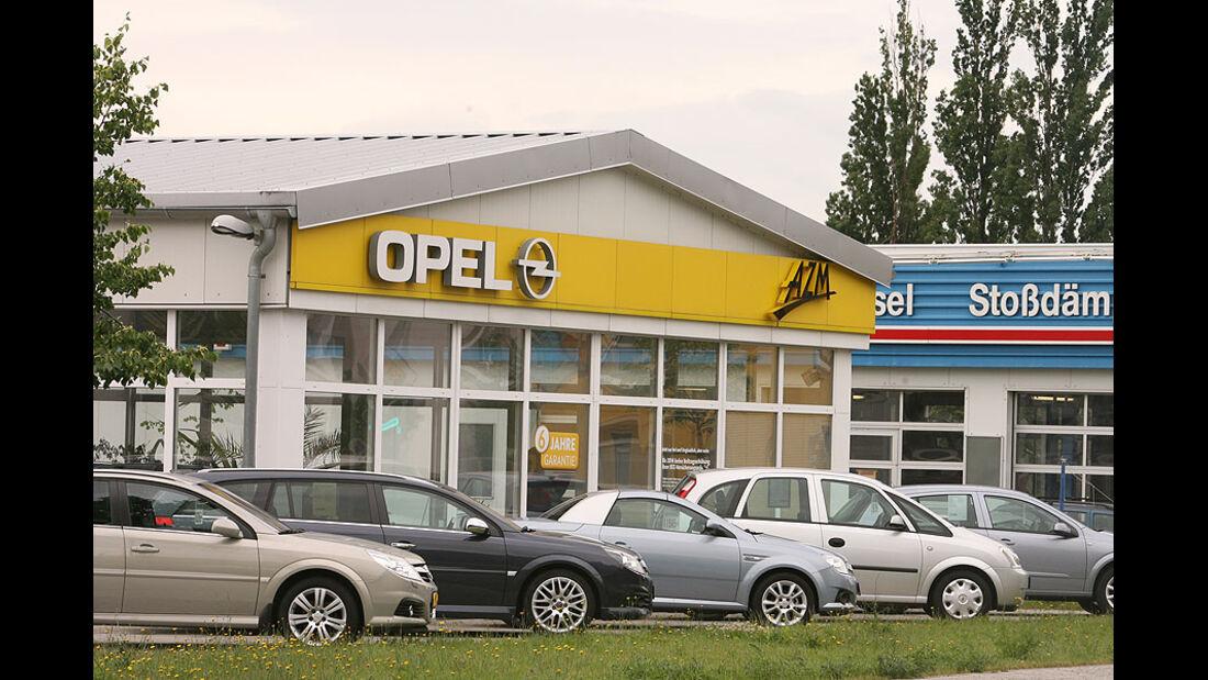 Opel Werkstättentest 2009