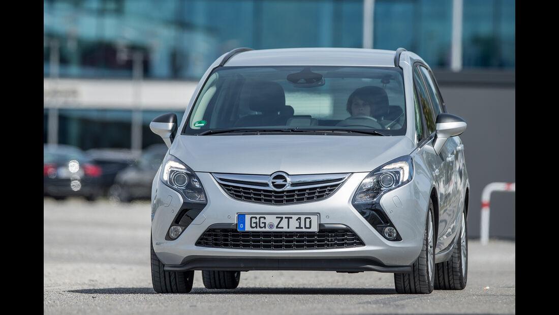 Opel Zafira 1.4 Turbo Exoflex, Frontansicht