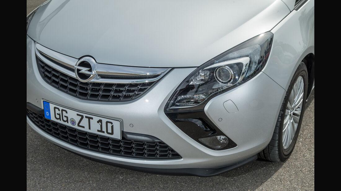 Opel Zafira 1.4 Turbo Exoflex, Frontscheinwerfer, Kühlergrill