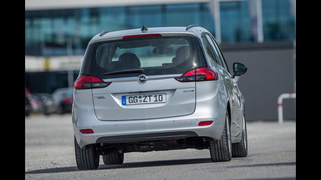 Opel Zafira 1.4 Turbo Exoflex, Heckansicht