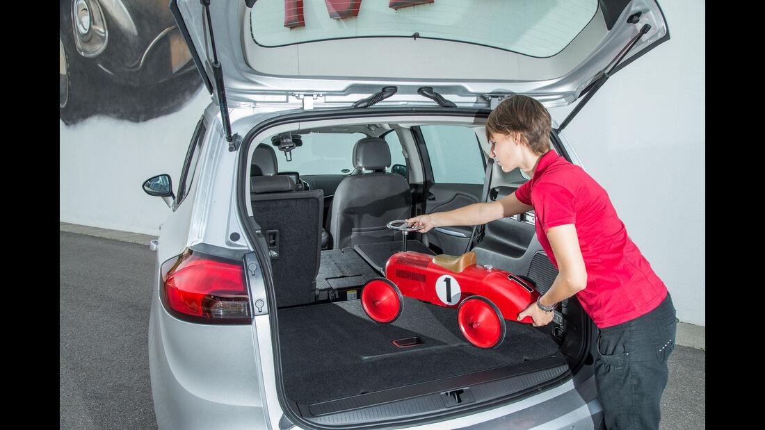 Opel Zafira 1.4 Turbo Exoflex, Kofferraum