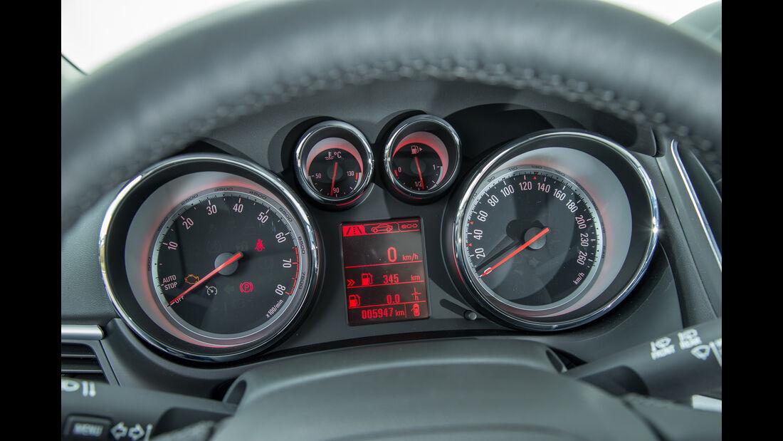 Opel Zafira 1.4 Turbo Exoflex, Rundinstrumente