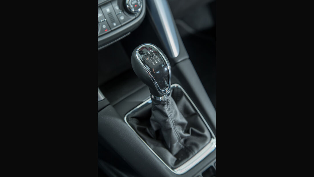 Opel Zafira 1.4 Turbo Exoflex, Schalthebel
