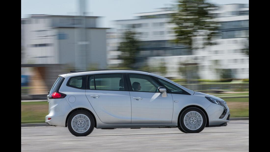 Opel Zafira 1.4 Turbo Exoflex, Seitenansicht