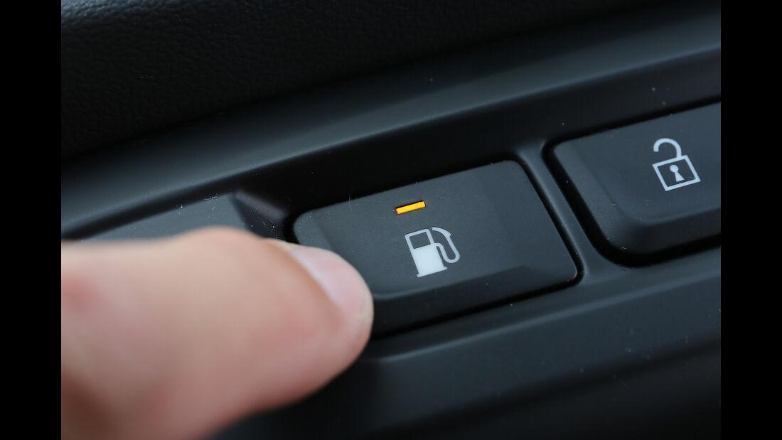 Opel Zafira 1.6 CNG, Interieur