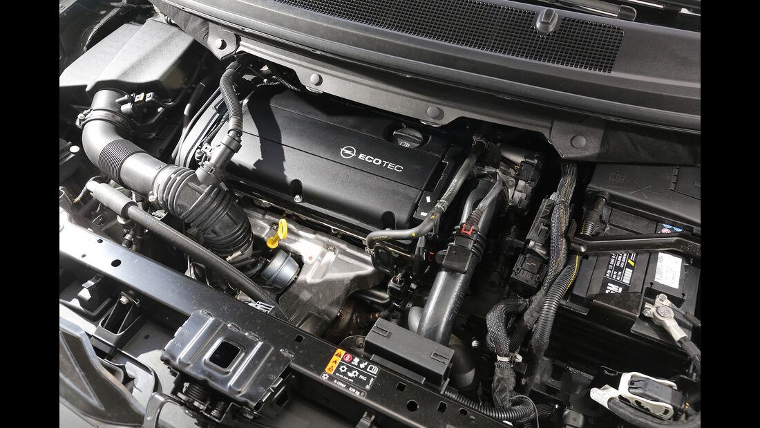 Opel Zafira 1.6 CNG, Motor