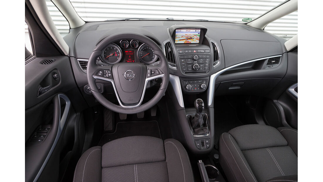 Opel Zafira 1.6 CNG Turbo, Cockpit